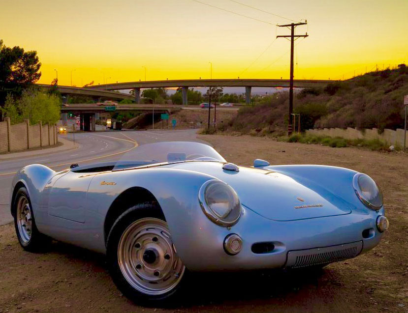 A car you can't help but photograph. 1955 Porsche 550 Spyder Replica