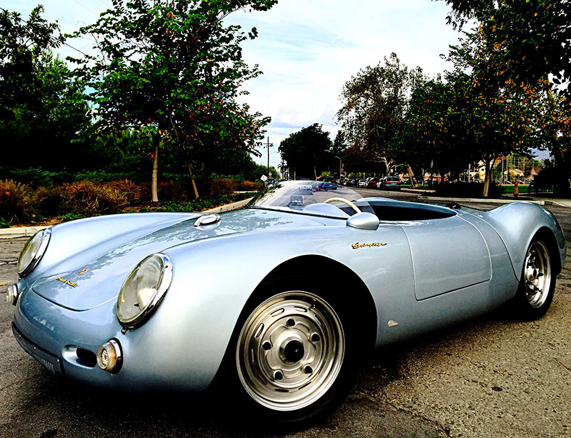 1955-Porsche-550-Spyder-Replica-front