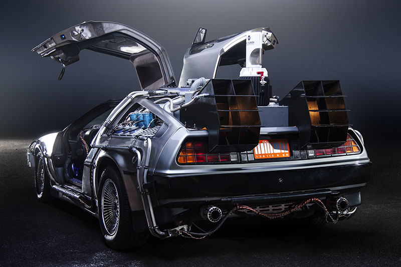 Back to the Future Day brings Back to the Future Cars!