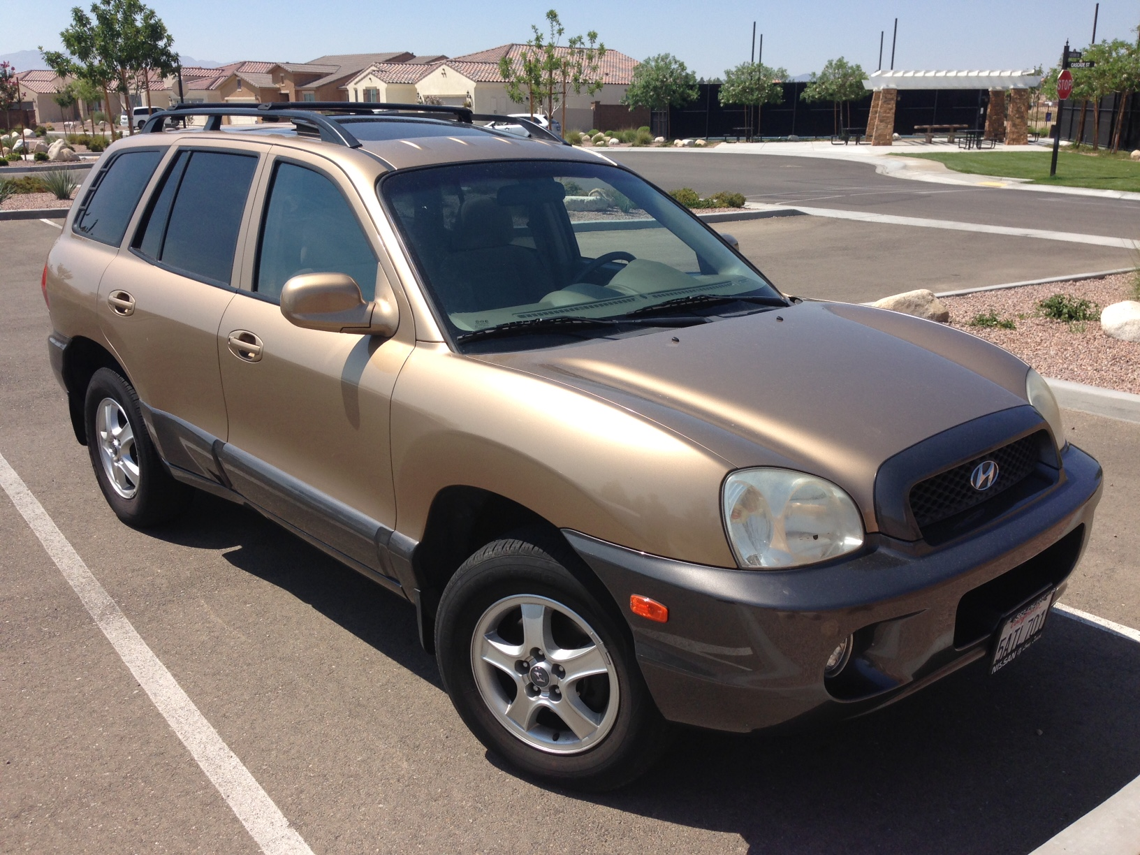 sell-2003-Hyundai-SantaFe-Castaic-Junction