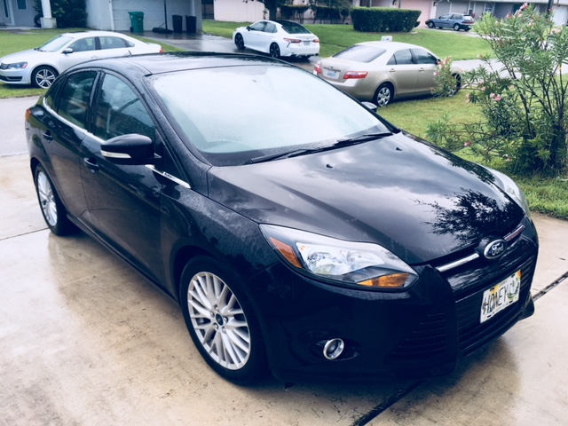 2014 Ford Focus Orange CA