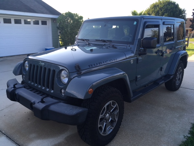 2014 Jeep Wrangler Rubicon Orange CA
