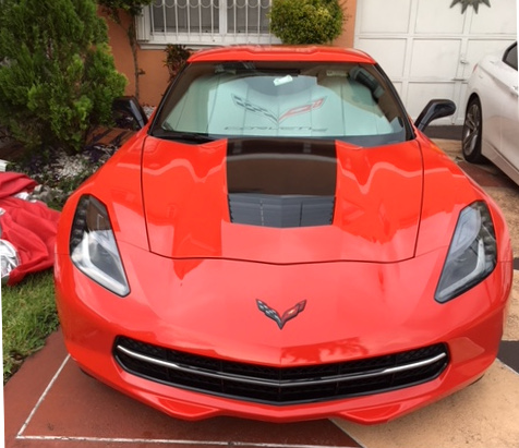 2015 Chev Corvette Orange CA